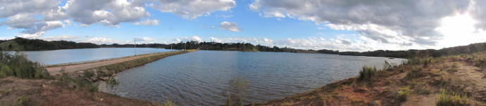 Panorâmica do Lago da Repressa de Piraquara II